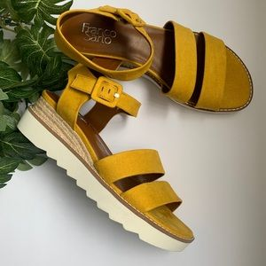 Franco Sarto Colton Chunky Sole Sandal